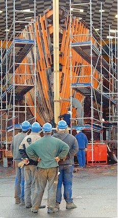 Conheça a história do navio Calypso, no-estaleiro