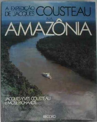 Conheça a história do navio Calypso, capa do livro Cousteau na amazoniararidades com br