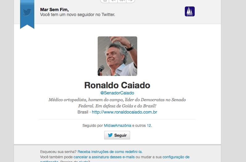 Ronaldo Caiado, melhor impossível