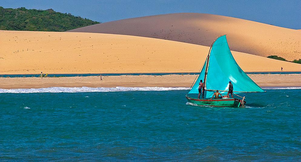 Mar Sem Fim, novidades no site, imagem de Mundaú, Ceará