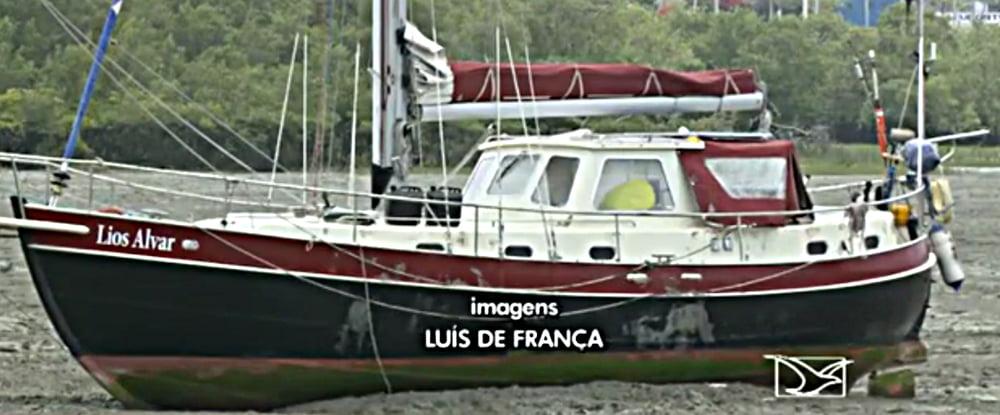 Assaltos a barcos no Brasil, imagem do barco de turista assassinado em São Luis