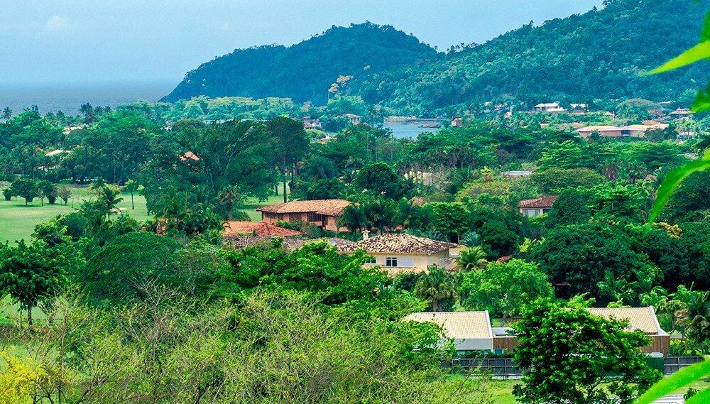 Especulação imobiliária, foto do condomínio Laranjeiras, Paraty