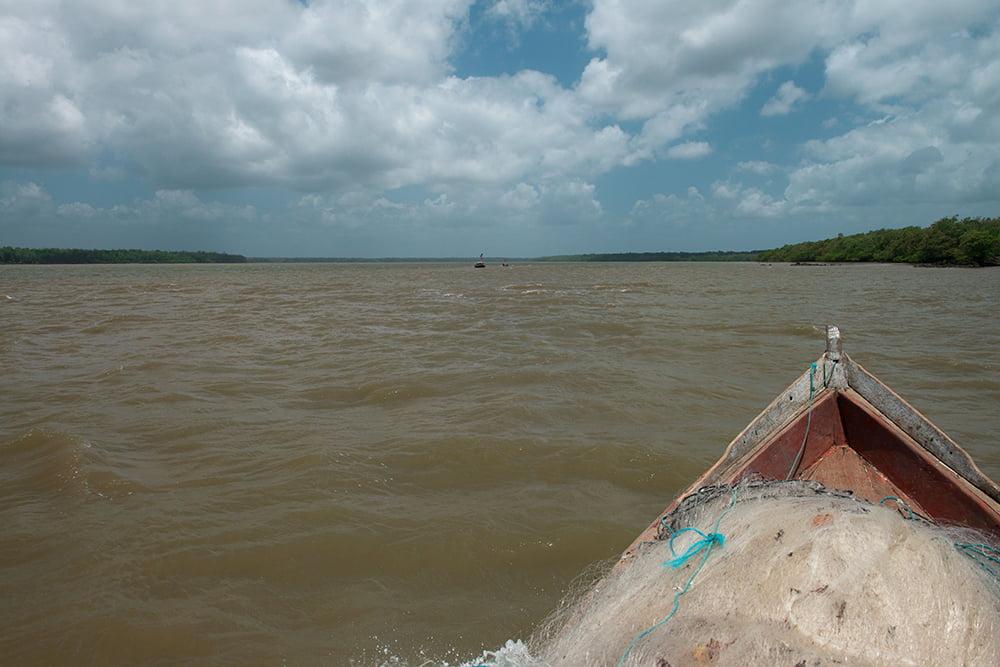 Colapso dos rios brasileiros, imagem do rio Gurupi, MA