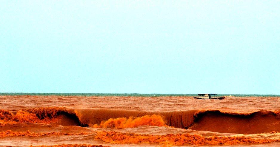 El Ninho devastador semeia caos, imagem do mar-de-regencia