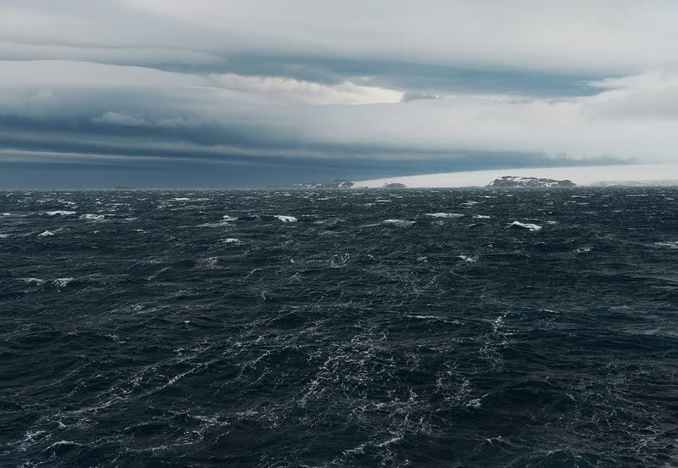 ONU e Áreas Marinhas Protegidas, imagem do oceano austral