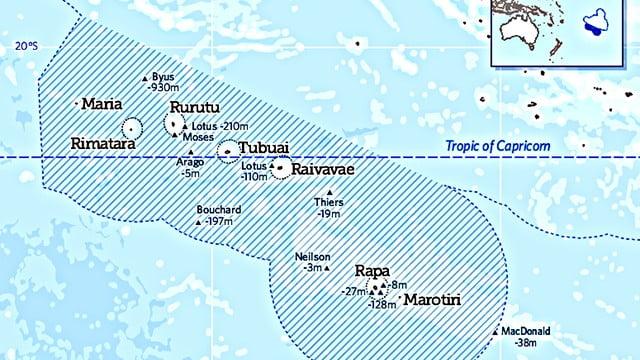 Polinésia francesa cria área marinha protegida