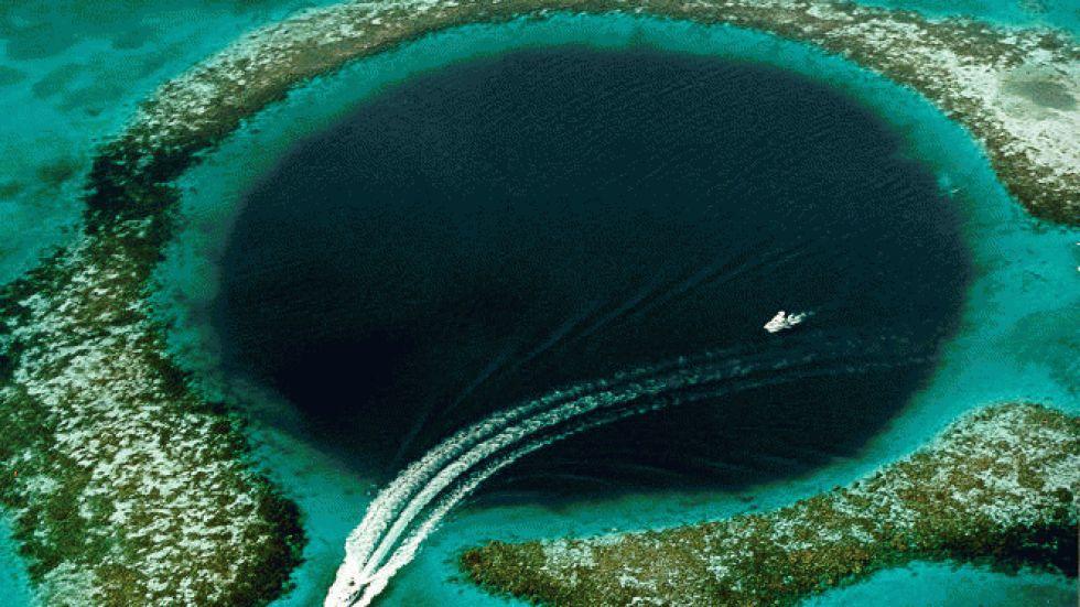 Barreira de Coral Andros, imagem dos recifes de belize