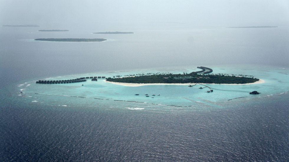 dez corais mais fantásticos, imagem de recifes nas ilhas-maldivas