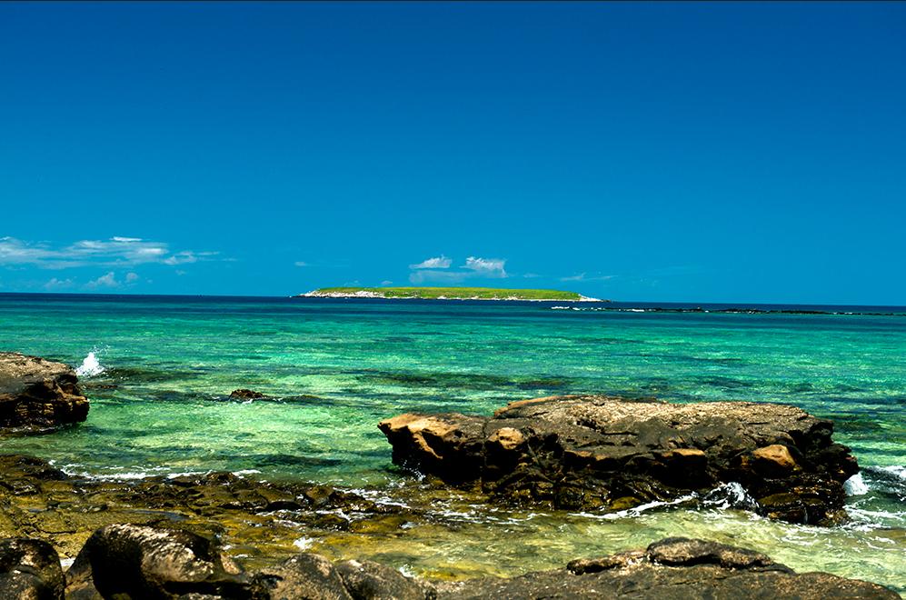 Costa brasileira, os dez maiores absurdos, imagem da ilha siriba, arquipélago dos abrolhos