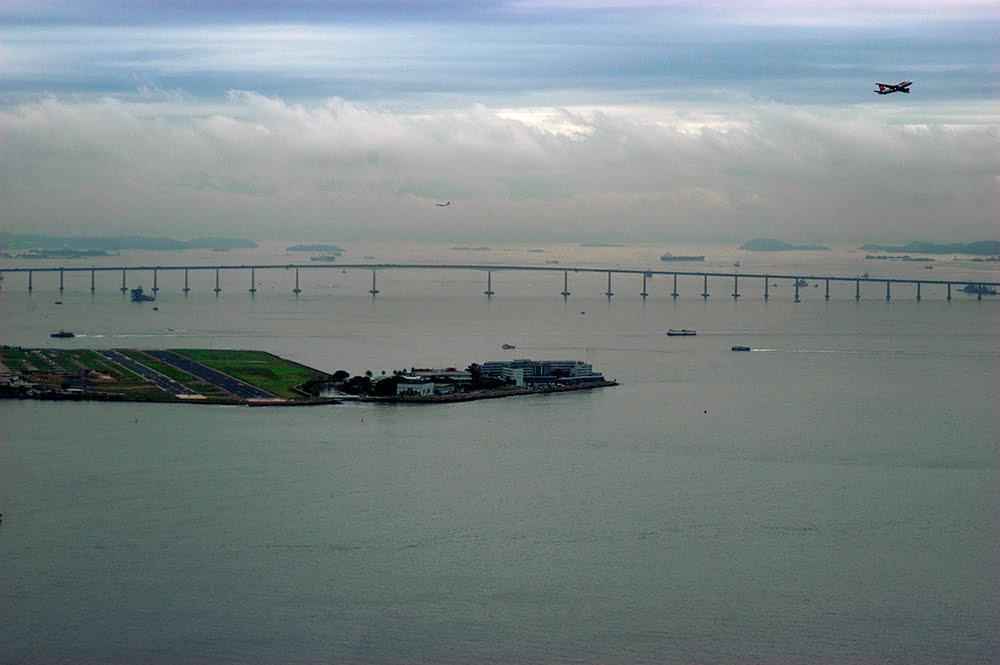 Costa brasileira, os dez maiores absurdos, imagem da baía de guanabara