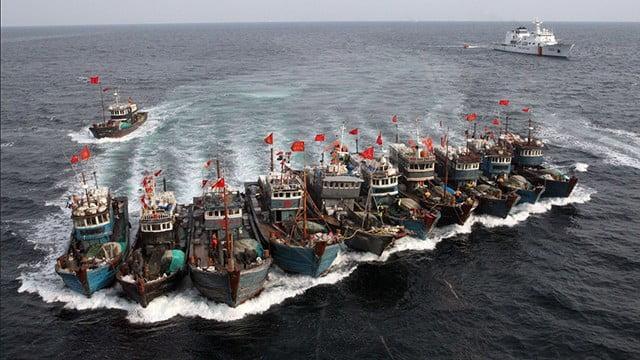 Guerra à pesca ilegal