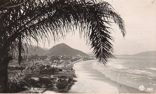 Como destruimos o Guarujá, imagem de Guarujá nos anos 40
