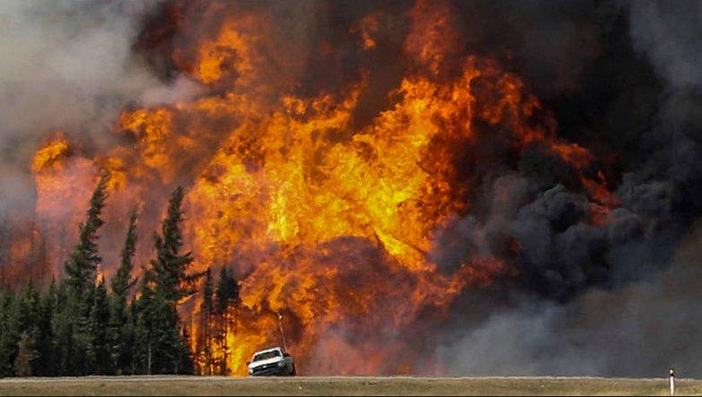 Mudanças climáticas, perdemos a guerra?, imagem de incendio na Califórnia