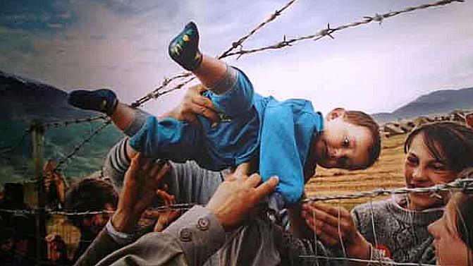 Mudanças climáticas, perdemos a guerra?, imagem de menino refugiado