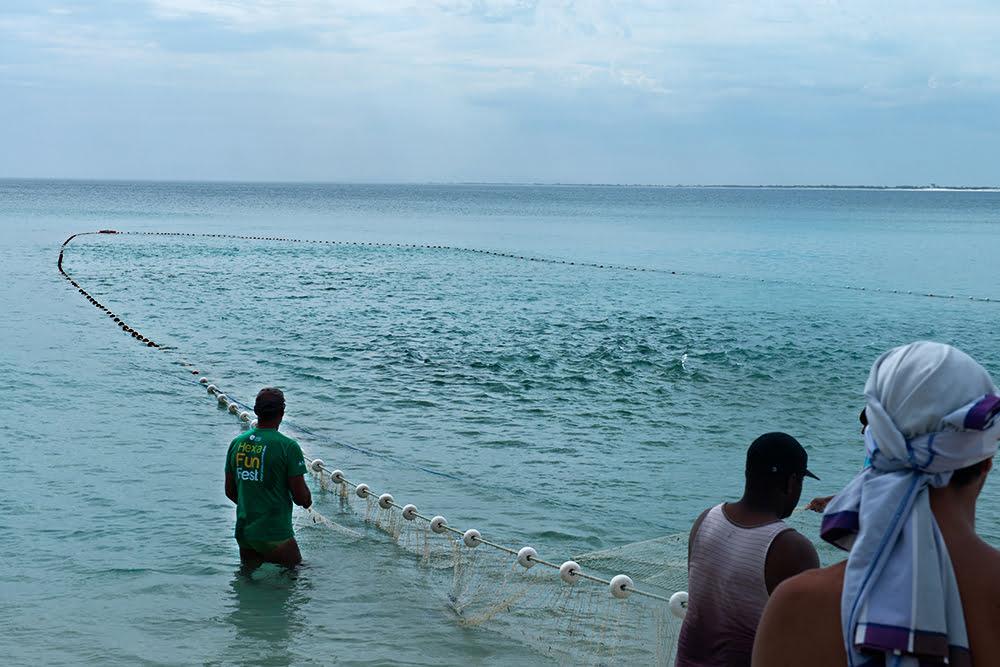 Subsídios à pesca no Brasil do PT: insustentáveis, imagem de pescadores com rede