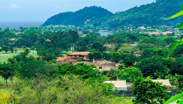 especulação no litoral, imagem do condomínio Laraajeiras, Paraty