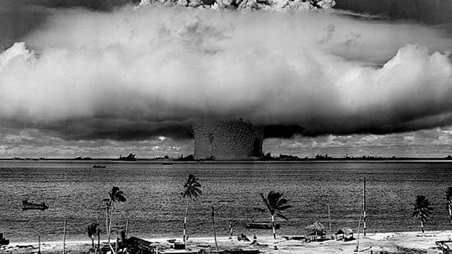 Litoral e os testes nucleares da Guerra Fria
