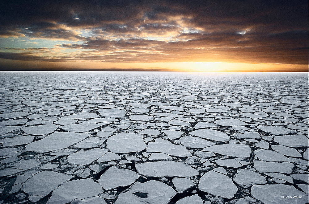 mar-de-ross, imagem do mar de Ross com placas de gelo