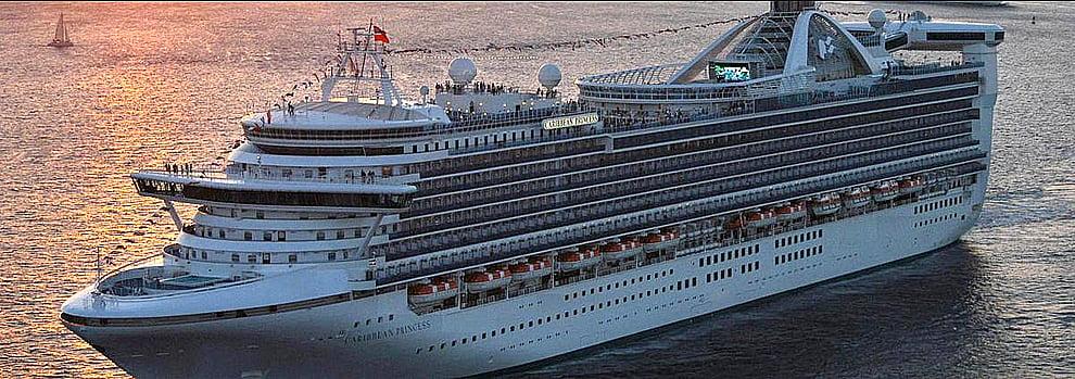 navio, imagem do navio Caribean Princess