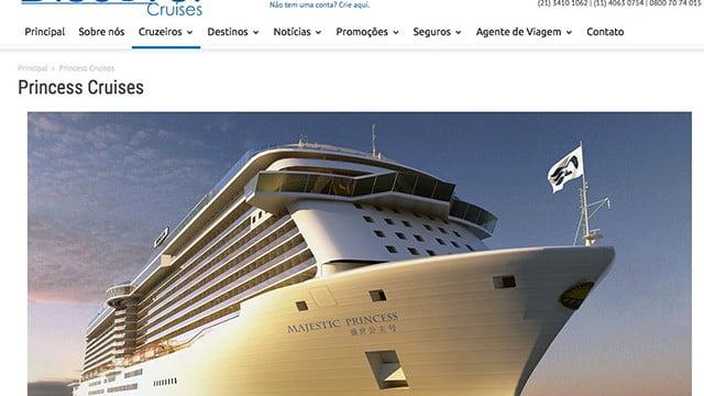 Navio porcalhão: Caribean Princess paga multa