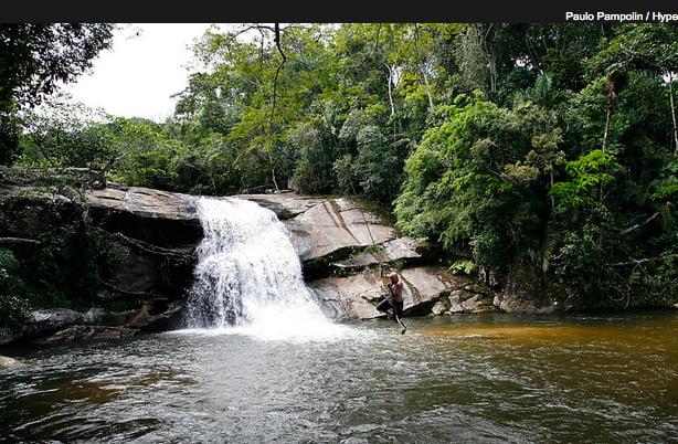 ubatuba, imagem de cachoeira em Ubatuba, SP