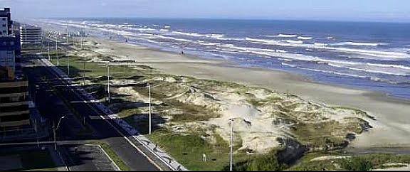 Maus tratos ao litoral de Capão da Canoa, RS