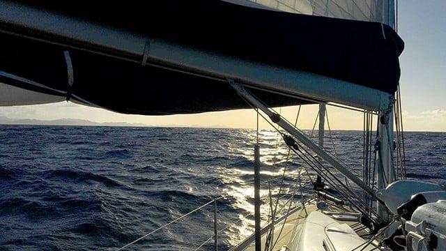 Viagem de veleiro da Kika, diário de bordo Nº 3
