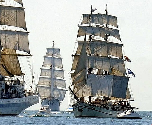 tall ship astrid, imagem de regatas de tall ship