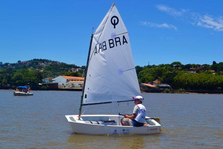 Campeonato de Optimist, imagem de Campeonato de Optimist do Rio