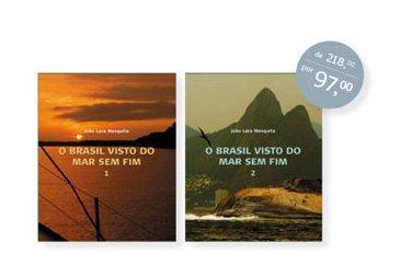 Mar Sem Fim chega à academia, imagem dos livros O Brasil Visto do Mar Sem Fim