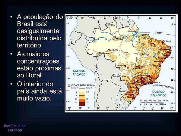 site Mar Sem Fim, mapa do censo brasileiro de 2010