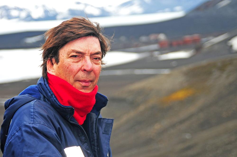imagem de joão lara mesquita que lança DVDs viagem à Antártica