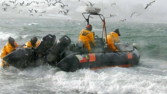 imagem do resgate do mar sem fim