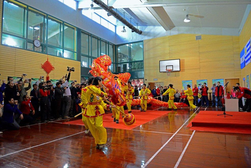 Carnaval no Brasil, Ano Novo Chinês na Antártica.Resgate do Mar Sem Fim