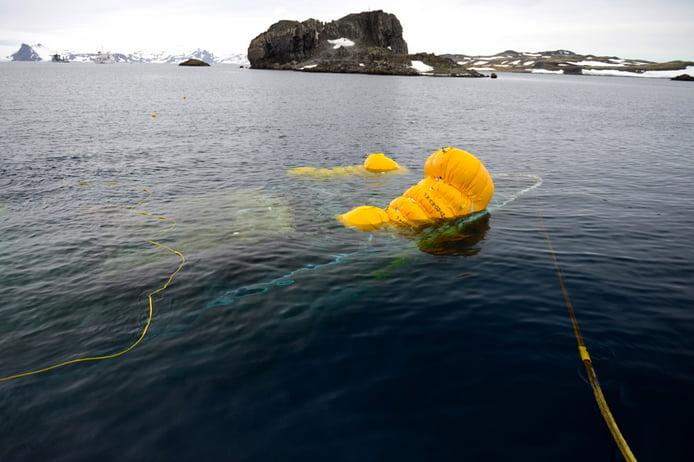 resgate do Mar Sem Fim... CONSEGUIMOS!, imagem do mar sem fim vindo à tona