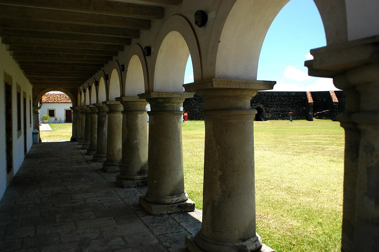 imagem da fortaleza de Santa Catarina, João Pessoa