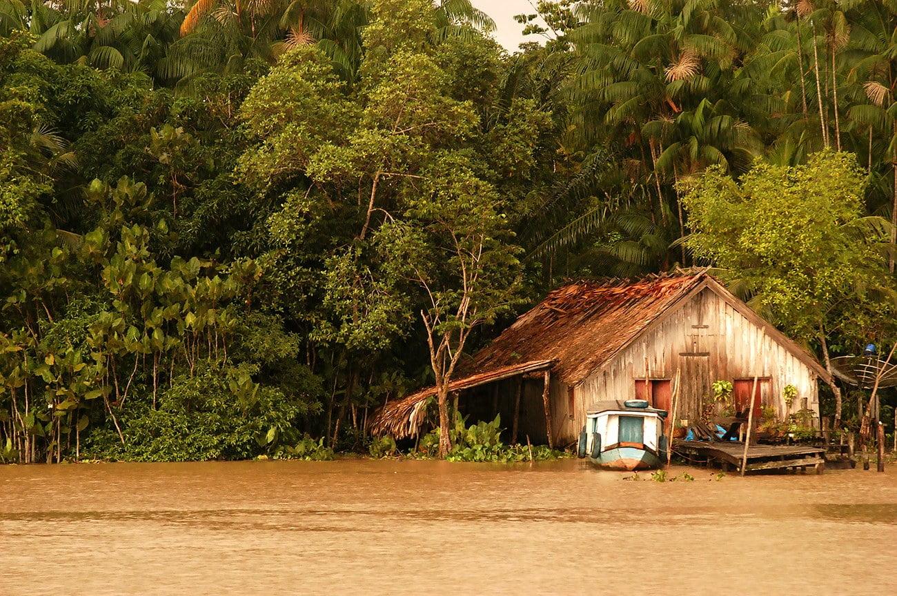 imagem de casa em são mingiel dos macacos Pará