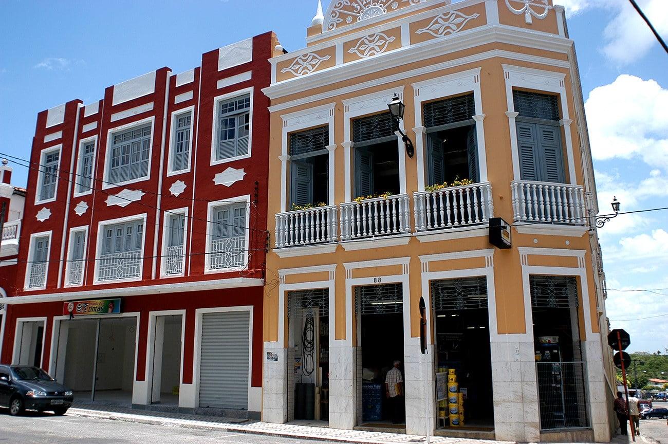 imagem de prédios art deco em João Pessoa