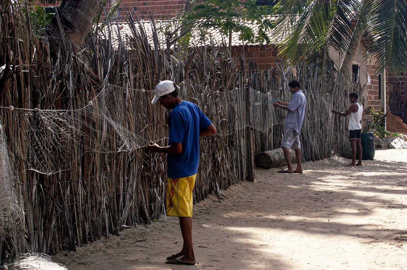 vila de pescadores artesanais