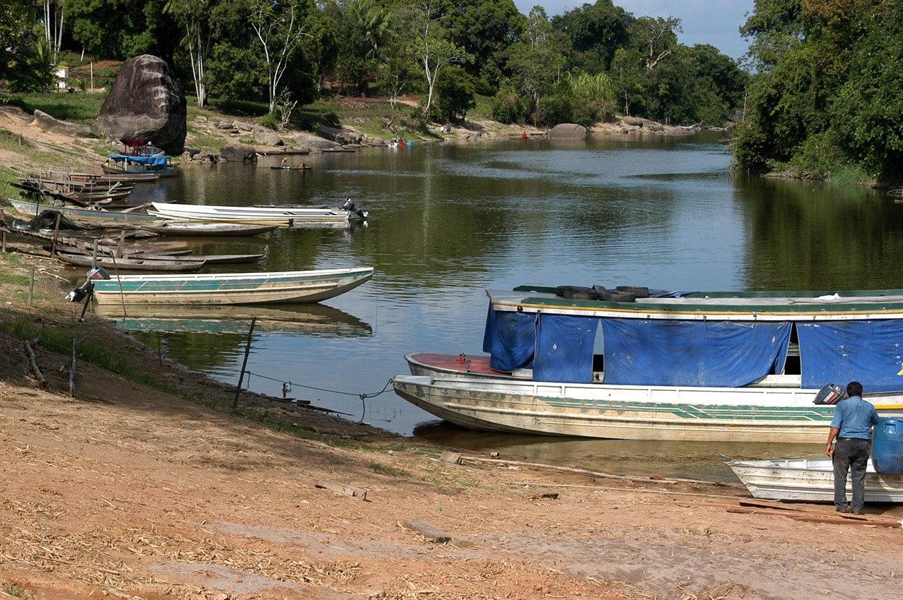 imagem da aldeia maga, Oiapoque