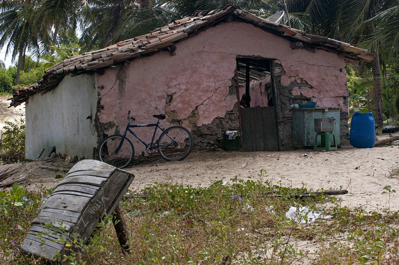 Casa de pescador tradicional