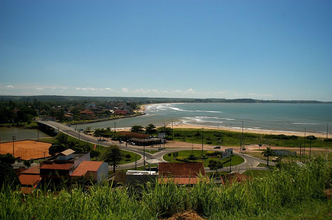 imagem de praias do Espírito Santo.
