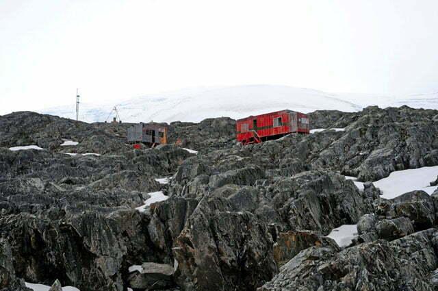 Base chilena abandonada