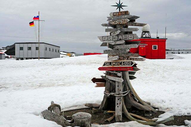 A base russa, e a da antiga RDA