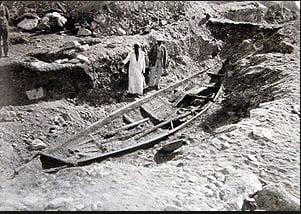 foto de escavação no Egito