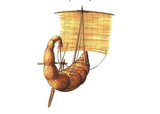 imagem demarco feito de papiro