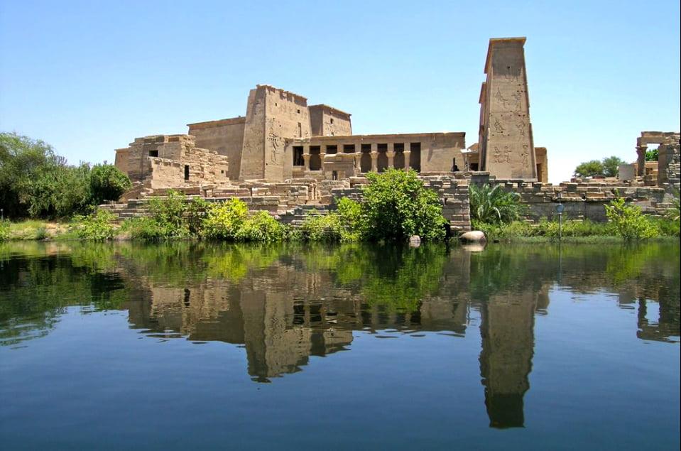 imagem do templo de Philae, Egito,