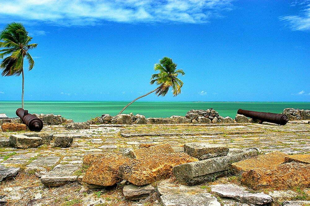 As viagens do Mar Sem Fim em fotos, Nº 3, imagem da Ilha de Itamaracá, Pernambuco.