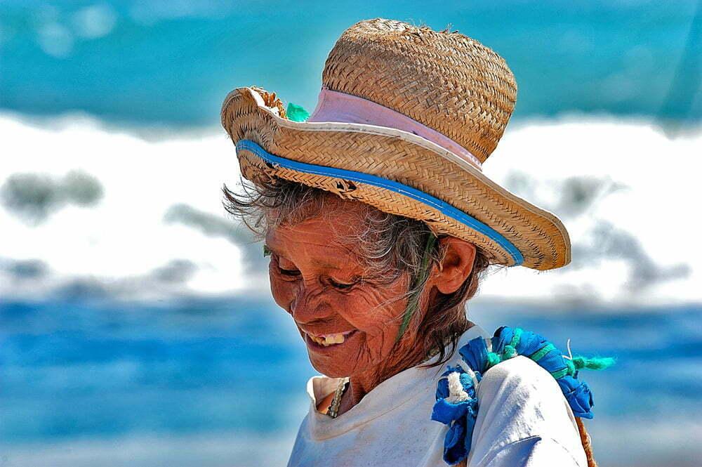 As viagens do Mar Sem Fim em fotos, Nº 3, imagem de uma N=nativa de Fleixeiras, Ceará.