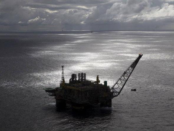 Embarcação da Petrobras, imagem da Plataforma de petróleo da Petrobras